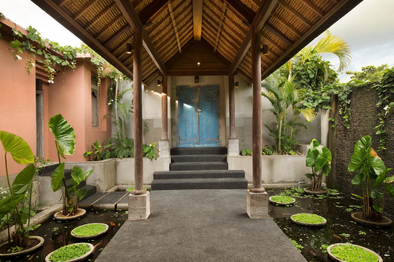 Villa Mamoune - entrance
