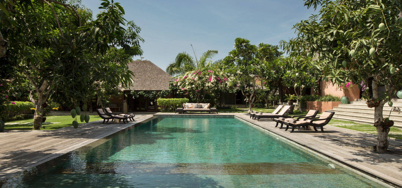Villa Mamoune pool view