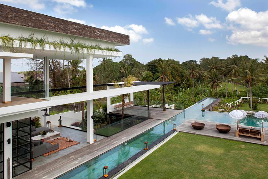 Villa Suami view pool canggu bali