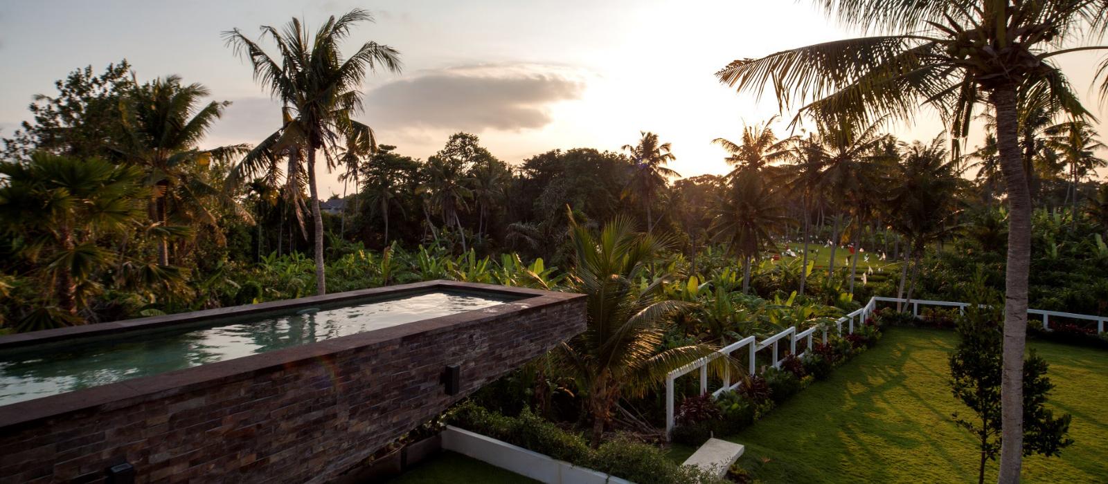 Villa suami luxury villa canggu pool hanging