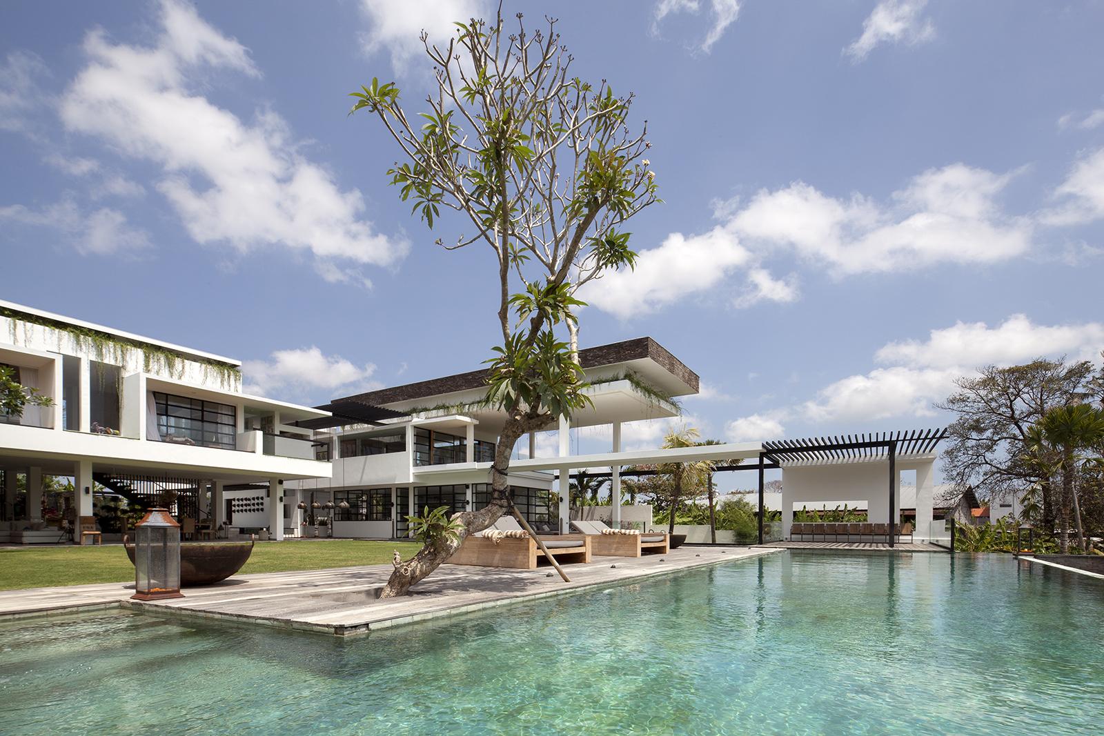 Villa suami pool view canggu bali