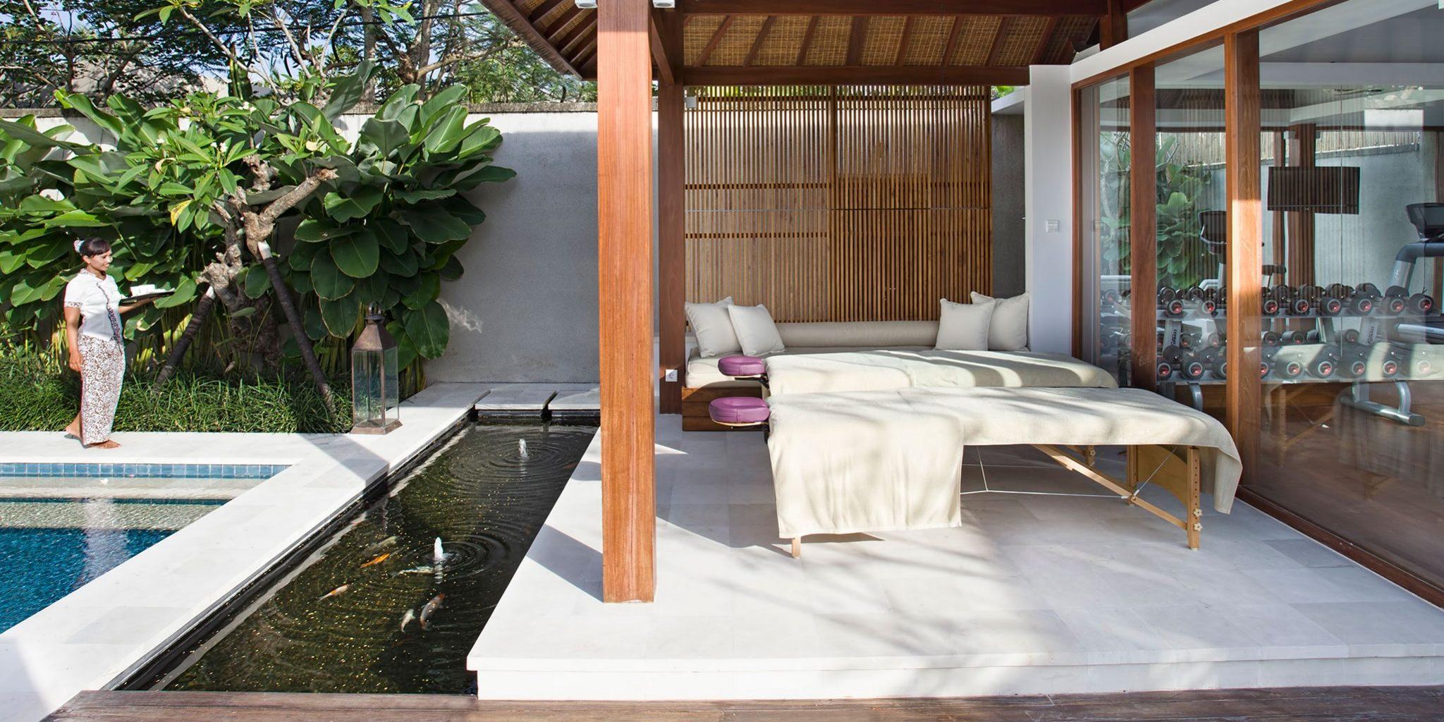 Villa Cendrawasih - massage in seminyak