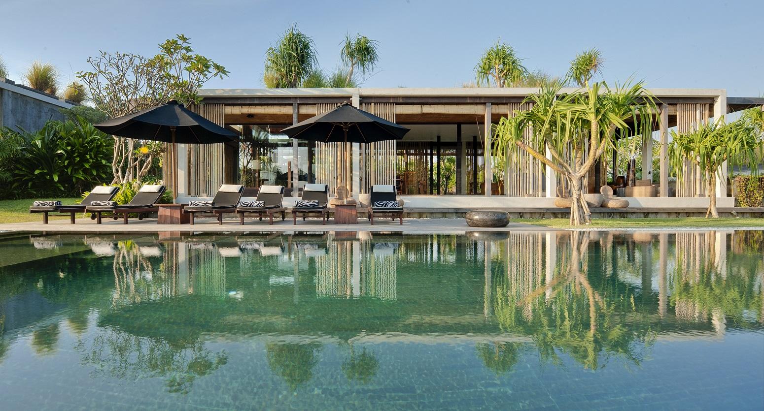 pool view living pavilion - Villa Tantangan
