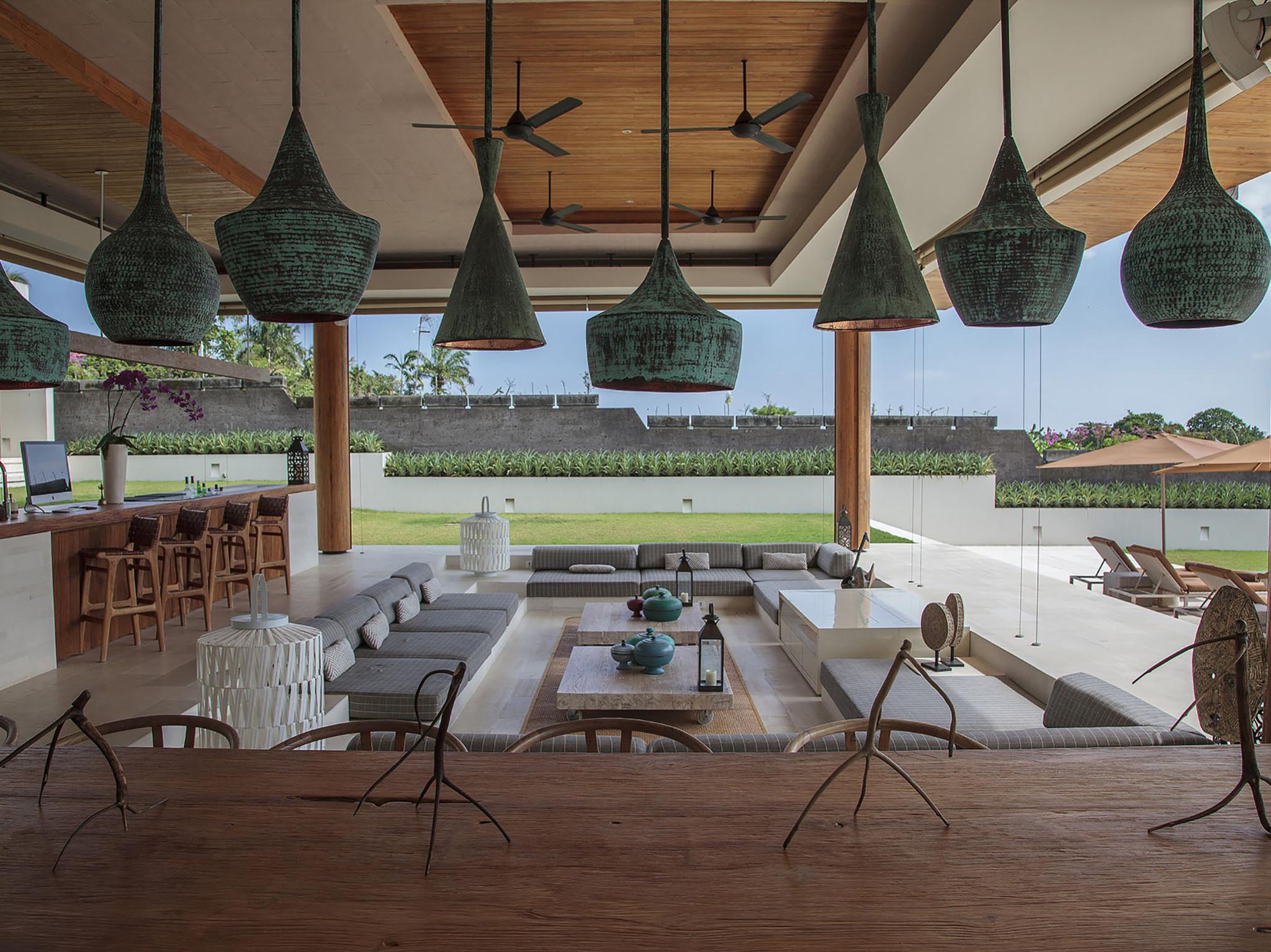The Iman Villa - Canggu Bali - Living and dining